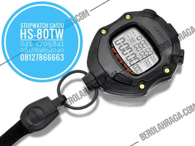 Stopwatch Casio HS-80TW- Murah di Jakarta, Alat Olahraga grosir, Distributor Alat Olahraga, Supplier Alat Olahraga, Jual alat olahraga retail