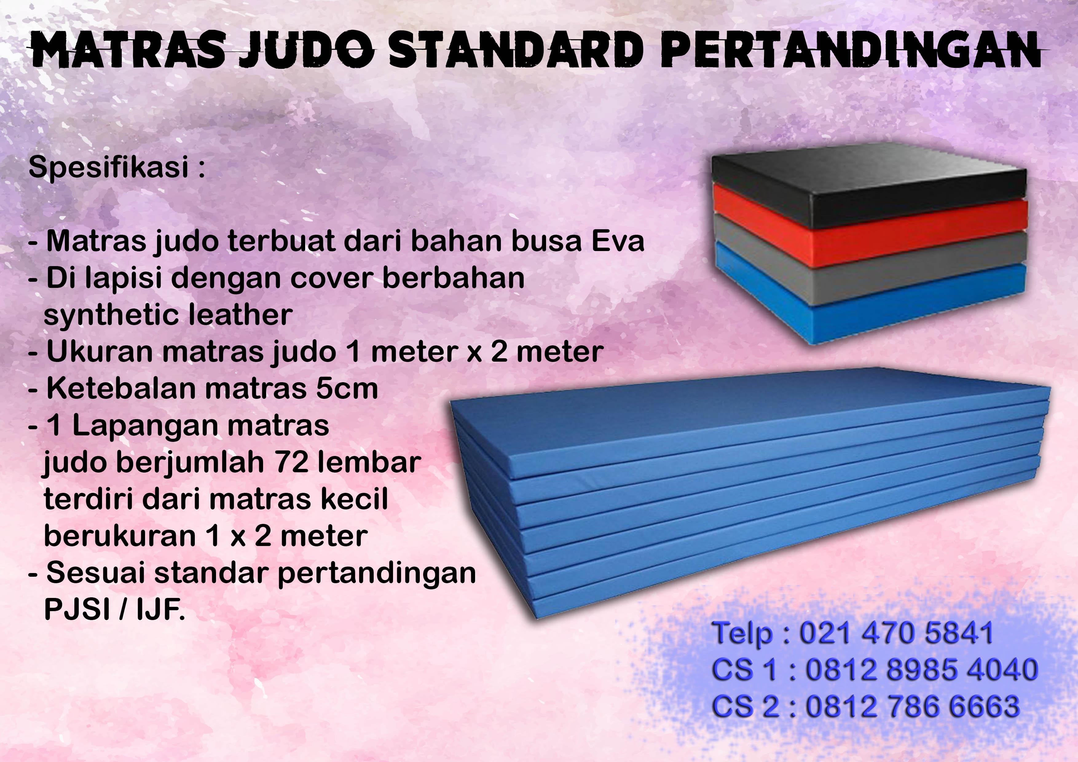 Matras judo standard kompetisi Produsen, Agen Perlengkapan Olahraga, beladiri, distributor, supplier, pusat, importir, Jakarta, Bandung, Bekasi, Bogor, Banten
