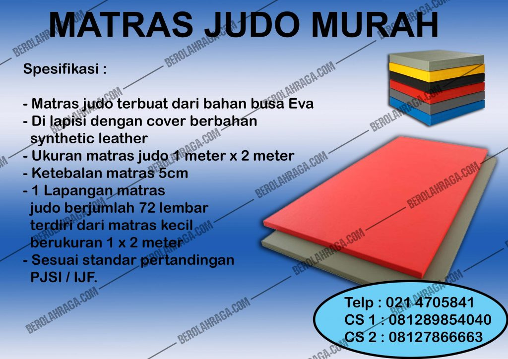 Matras Judo Murah, Produsen, Agen Perlengkapan Olahraga, beladiri, distributor, supplier, pusat, importir