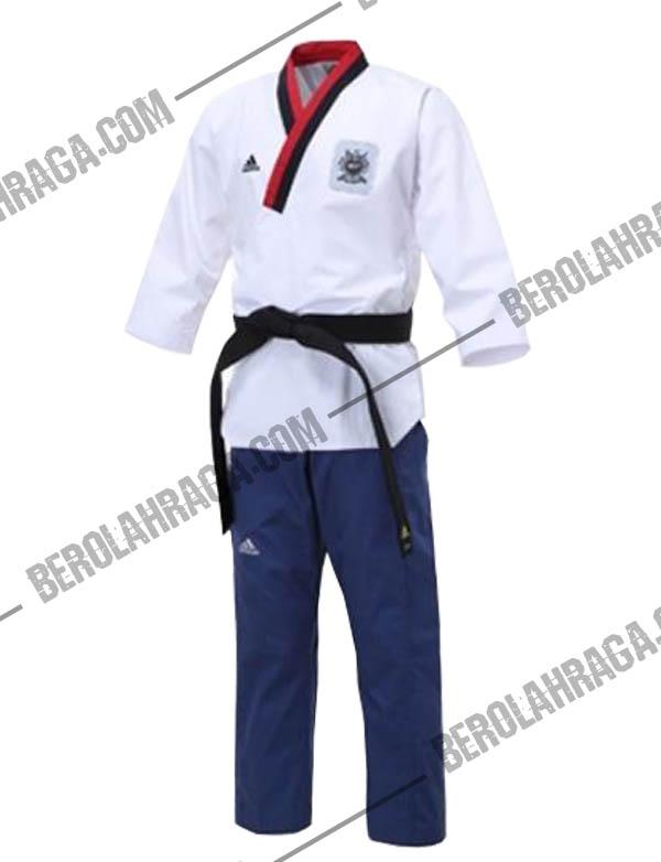 Distributor ADIDAS Poomsae TKD Uniform DAN Murah